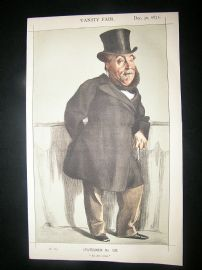 Vanity Fair Print: 1871 William Henry Gregory, Cartoon